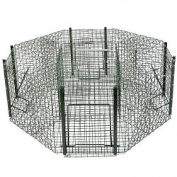cage à pie octogonale-armurerie-steflo