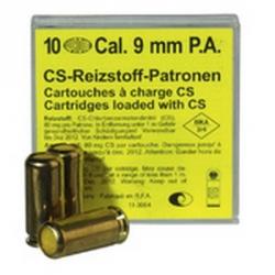 Cartouches 9mm PA Gaz-armurerie-steflo