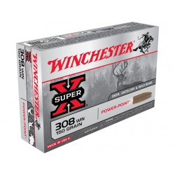 Winchester - 308W - Power Point - 150grs