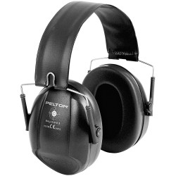 Casque Peltor Bull's Eye I Noir Pliable