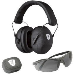Kit Tir tactical Lunette + Casque Browning + bouchons