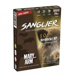 Mary-Arm - Brenneke Sanglier HP - 12/70 - (x10)