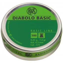 RWS - Diabolo Basic - 4,5mm - (x500)