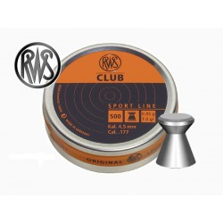 RWS - 4,5mm - Club - (x500)