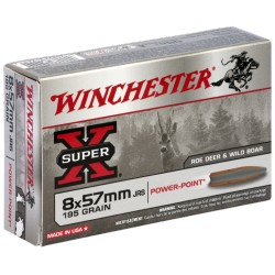 Winchester - 8x57JRS - Super-X Power Point - 195grs