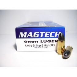Magtech - 9mm luger - LRN - 124grs - (x50)