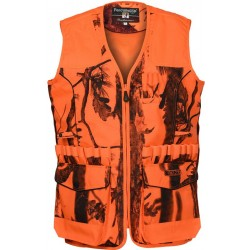 GILET DE TRAQUE PERCUSSION STRONGER - GHOST CAMO