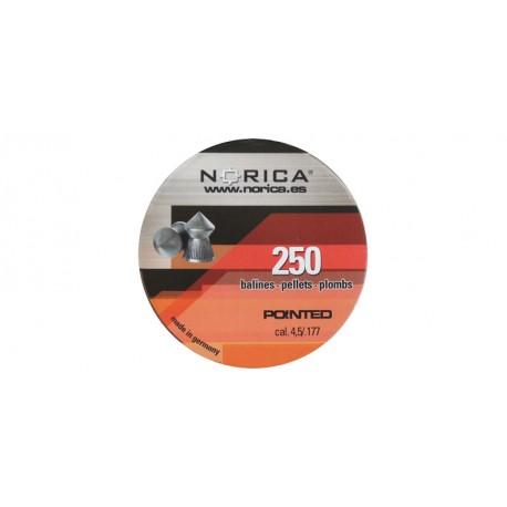 Norica Plombs pointus 4.5mm
