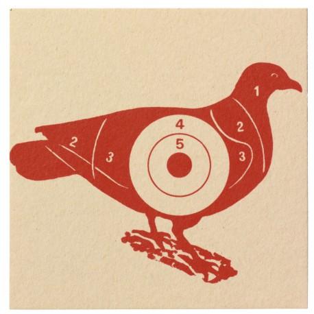 Cibles pigeon 10x10 (x100)
