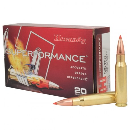 Hornady - 308 Win - Superformance - 150grs - SST