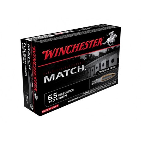 Winchester - 6,5 Creedmoor - BTHP - 9,07g/140grs