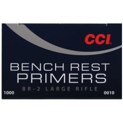 Amorces CCI BR2 Large rifle (x100)