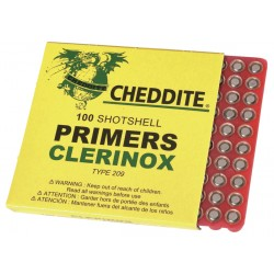 Amorces chasse CHEDDITE type 209(x100)
