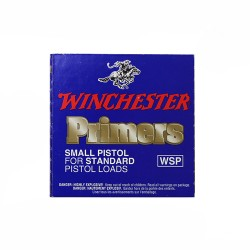 Amorces Winchester WSP Small Pistol (x100)