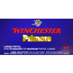 Amorces Winchester WLP Large Pistol (x100)