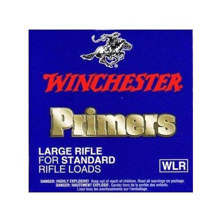 Amorces Winchester WLR Large Rifle (x100)