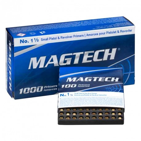 Amorces Magtech Small pistol No. 1 1/2 (x100)