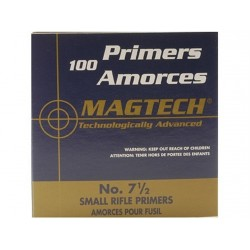 Amorces Magtech Small Rifle No. 7 1/2 (x100)