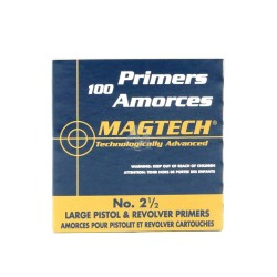 Amorces Magtech Large Pistol No. 2 1/2 (x100)