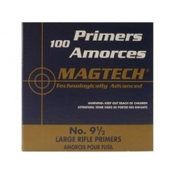 Amorces Magtech Large Rifle No. 9 1/2 (x100)