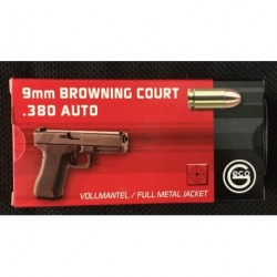 Geco 9mm court FMJ 95grs