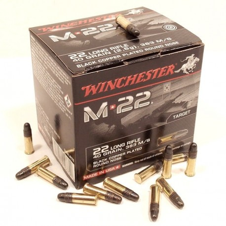 Winchester 22LR M22 40grs