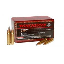 Winchester 17HMR Varmint HV 17grs