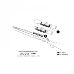 Montage amovible Nomad 30mm pour BAR, SXR, Argo