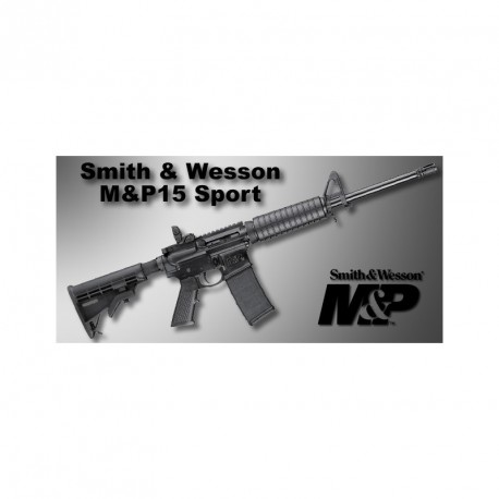 Smith & Wesson MP15 Sport 2