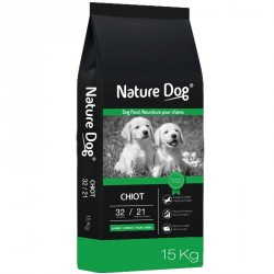 Nature Dog Chiot - 15kg