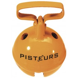 Grelot 37mm orange - Pisteurs