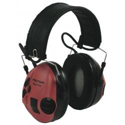 Peltor Sport-Tac Electronique rouge/noir