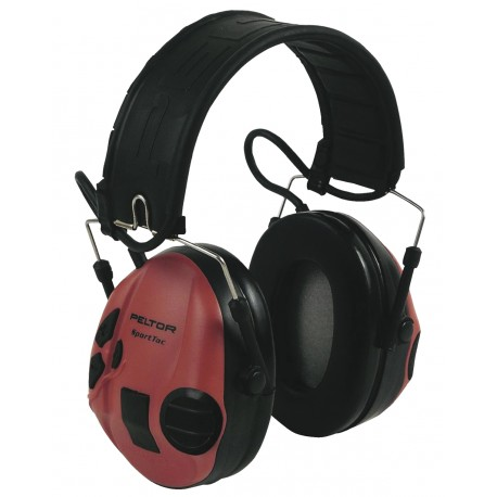 Peltor Sport-Tac Electronique rouge/noir