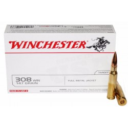 Winchester - 308W - FMJ - 147grs
