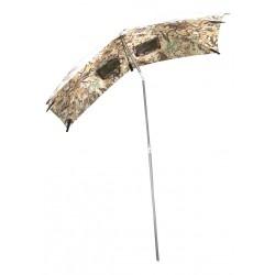 Parapluie d'affût camo avec rallonge