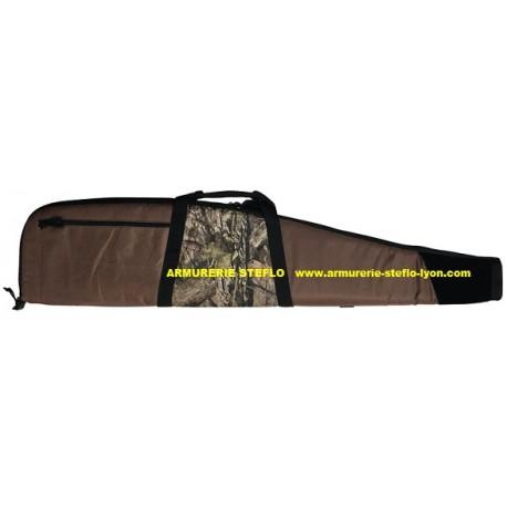 Fourreau carabine 128cm marron/camo