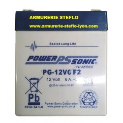 batterie rechargeable 12 Volts-armurerie-steflo