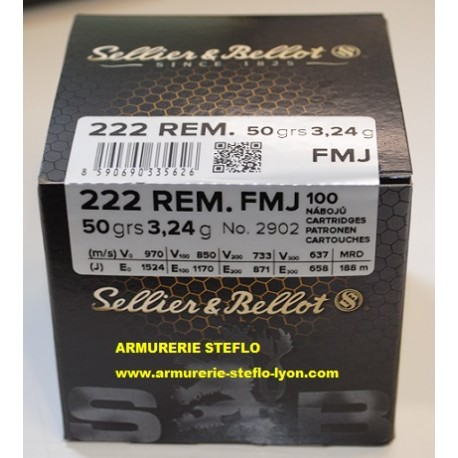 Sellier & Bellot 222R FMJ Vrac (x100)