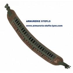 Cartouchière carabine toile et cuir Riserva