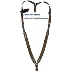 Bretelle sac-à-dos néo marron Niggeloh