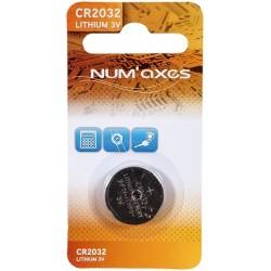 Pile CR2032 3V - Num'axes - (x1)