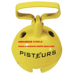Grelot 37mm jaune - Pisteurs