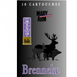 brenneke-calibre-28-munitions-chasse-steflo-armurerie