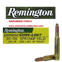 Remington 30.06 Sprg Core Lokt 220grs