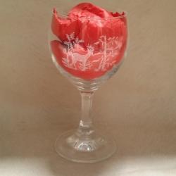 Verre vin rouge-grave-chevreuil-armurerie-steflo1