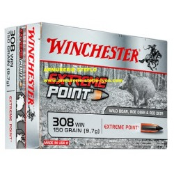 Winchester 308 WIN Extreme Point 9,7g/150grs