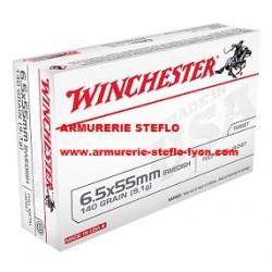 Winchester 6.5x55 Swedish FMJ 140grs
