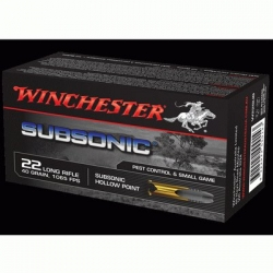 Winchester subsonique buck mark stainless -steflo-armes- loisir