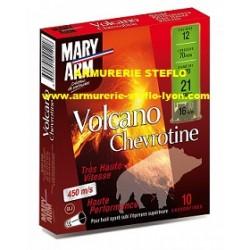 Mary-Arm Volcano Chevrotine HP - 12/70 - 21 grains - (x10)