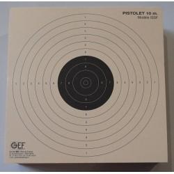 Cibles 17x17 pistolet 10m (x200)